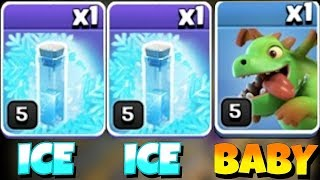 "NEW EVENT ICE ICE BABY!! ""Clash Of Clans"" TROLL WITH BABY DRAGS!!"