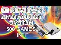 Ed Reviews Entertainment System 500 Games in 1 NES Classic Mini Knock Off HD