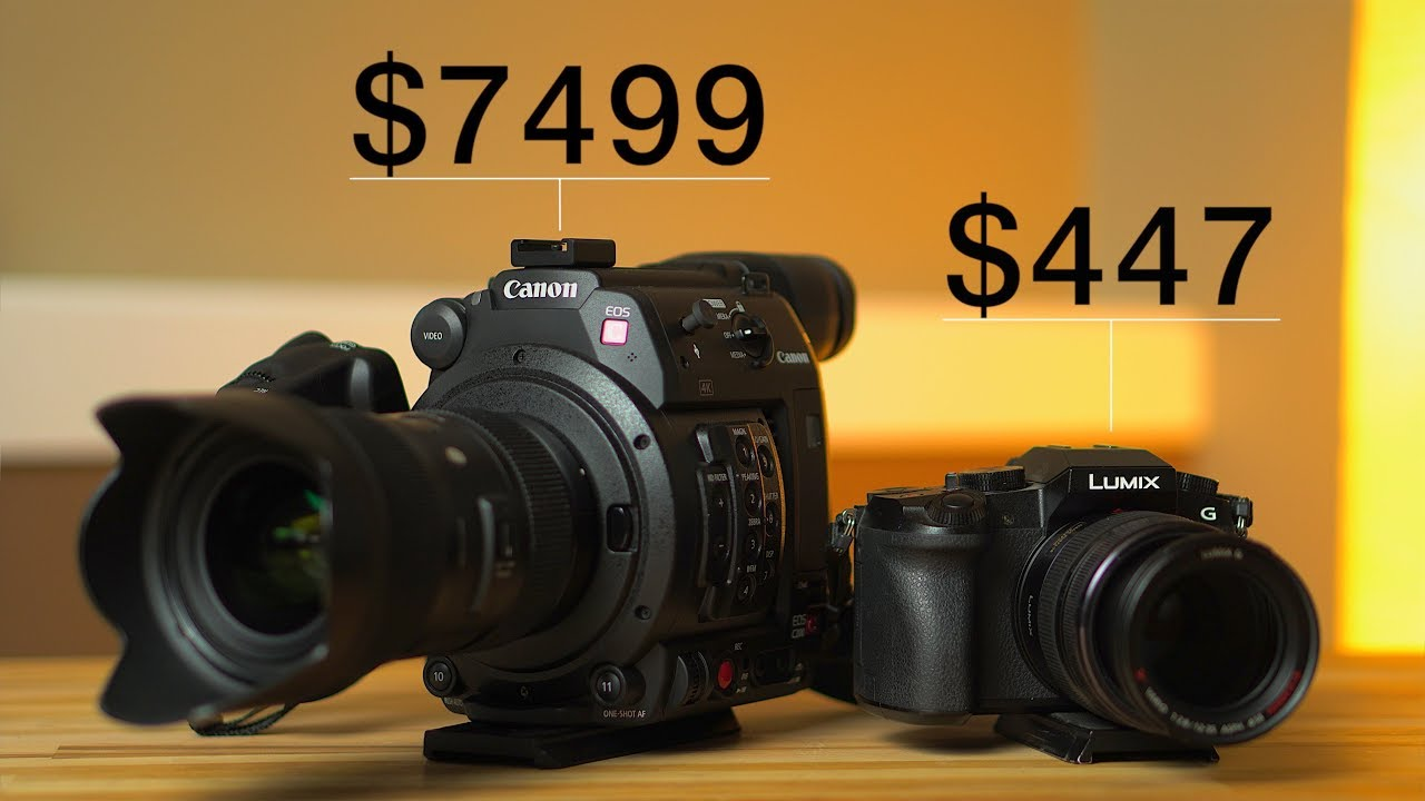 Canon C200 vs Panasonic G7 - Can You Guess Which is Which? | 4K Shooters