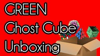 GREEN Metallic Ghost Cube Unboxing | Mefferts/Jade Club