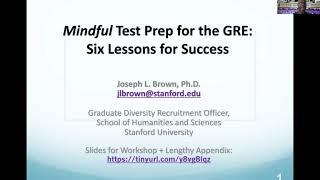 Week 3: The GRE