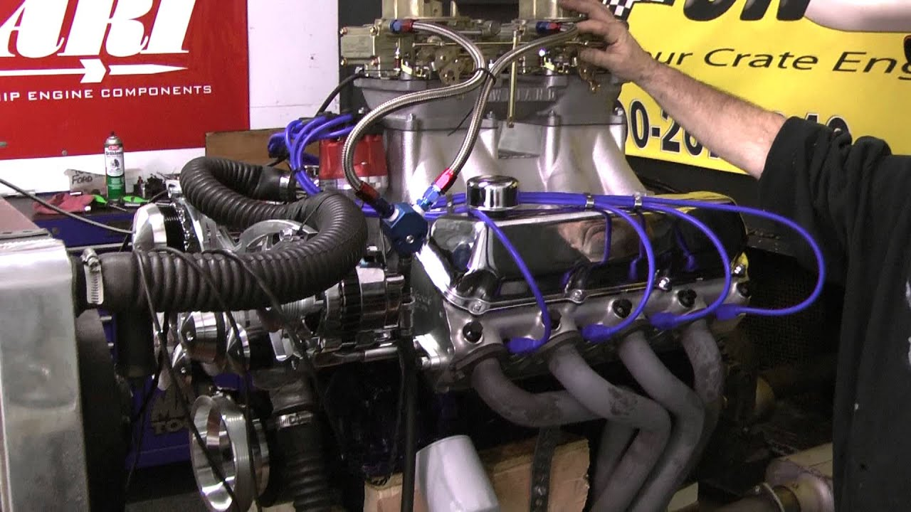 Ford 460 Tunnel Ram Set Up W Holley Carbs By Proformance