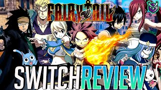Fairy Tail Switch Review - Best Anime JRPG? (Video Game Video Review)
