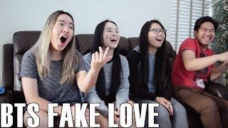 BTS (방탄소년단)- Fake Love (Reaction Video)