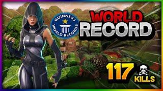 *WORLD RECORD* IN DISCO DOMINATION 117 KILLS / INSANE MATCH! / FORTNITE BR