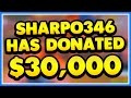 GETTING DONATED $30,000 ON STREAM REACTI
