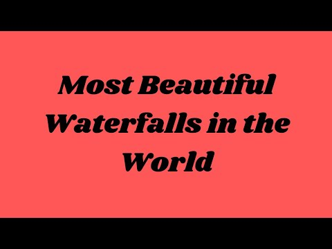 Most Beautiful Waterfalls in the World @ Nayan TV