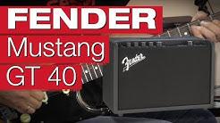 Fender Mustang GT 40 (Gitarren Modeling für Einsteiger)