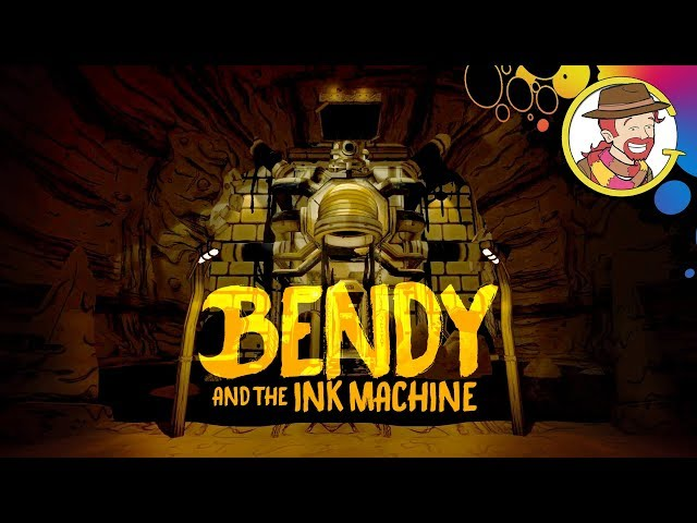 Bendy and the Ink Machine Funny Moments & Jump Scares