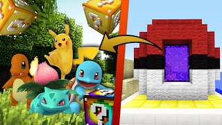 MEWTWO Vs MEWTWO 🔝 LUCKY BLOCK POKEMON EN LA DIMENSIÓN DE POKEMON EN MINECRAFT | DIMENSIONES #11