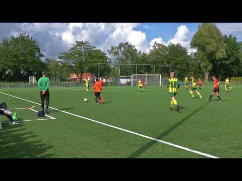Oranje Nassau wint ruim van Groen Geel