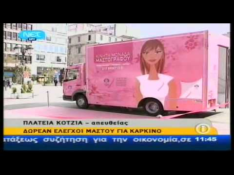 Kinhtos mastografos – sponsored by AVON Cosmetics