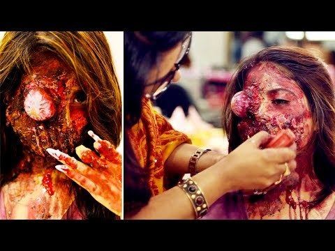 Scary Makeup Tutorial & Tricks - Special Effects Makeup Ideas