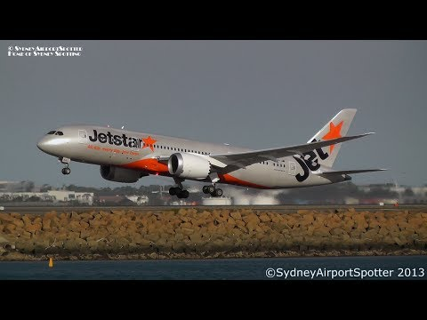(NEW) Jetstar Airways Boeing 787 VH-VKA - FIRST Take Off at Sydney Airport SYD / YSSY