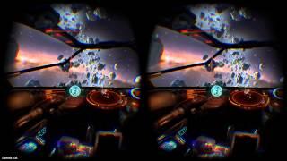 SUPER REAL VR IN ELITE DANGEROUS OCULUS RIFT DK2  HOTAS BLACK WIDOW