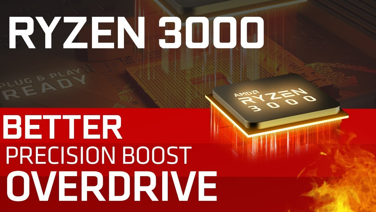 AMD Updates Precision Boost Overdrive For Ryzen 3000!