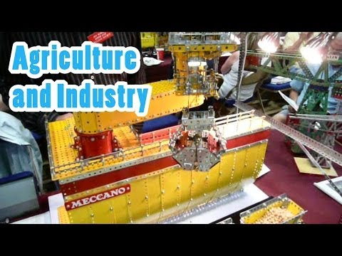 SkegEx Meccano Show 2010 - Agriculture and Industry