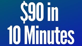 Earn $90 Dollars In FREE PayPal Money 2019! (Get PayPal Cash Daily!)