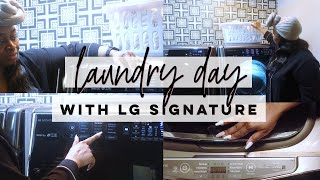 Laundry Day with LG Signature …
