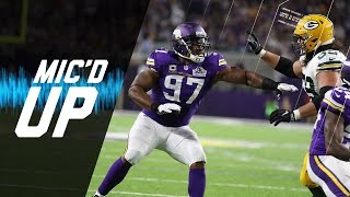 Everson Griffen Mic'd vs Packers (Week 2) | Sound Fx | NFL