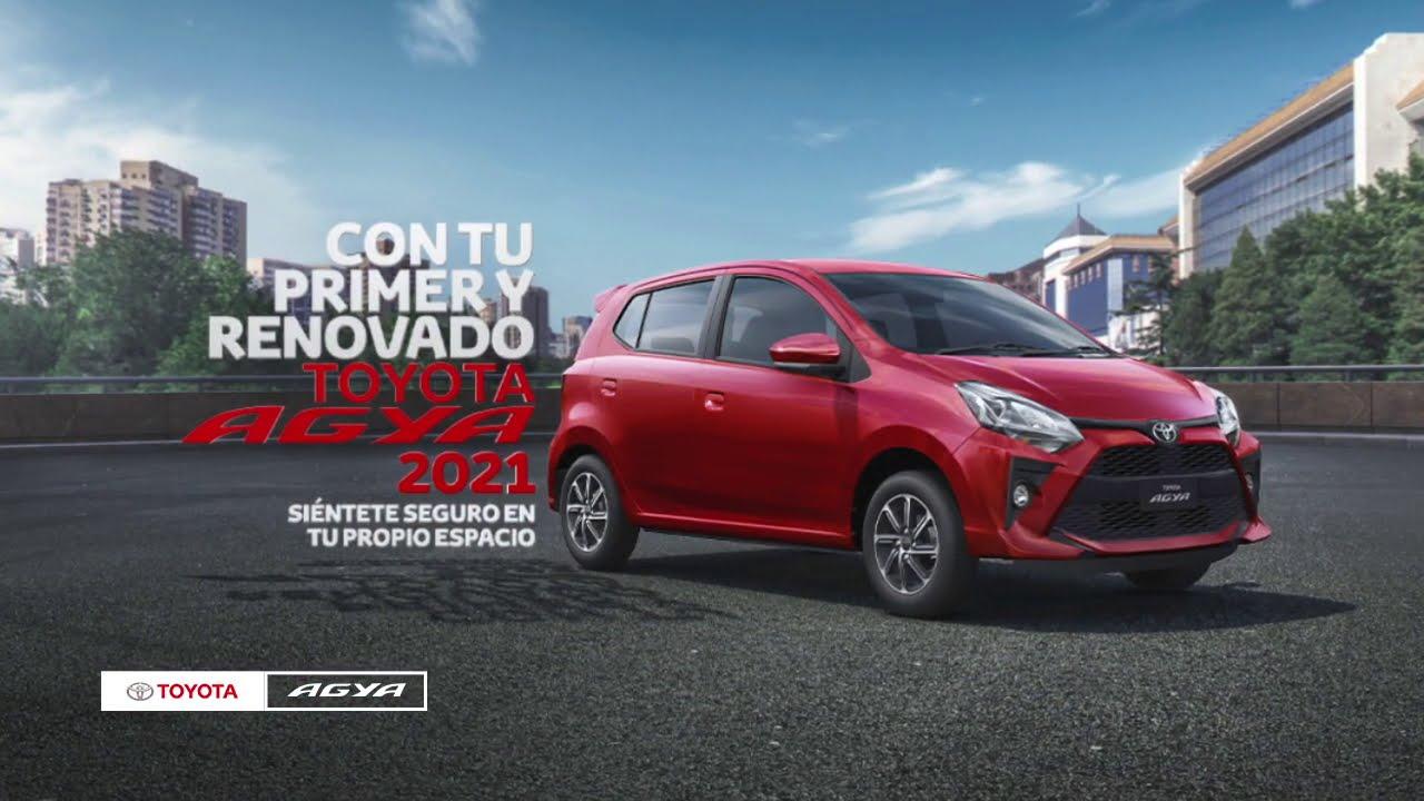 ¡Llegó el nuevo y renovado Toyota Agya 2021!