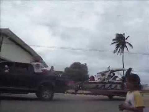 RMI Santa Parade Majuro, Marshall Islands