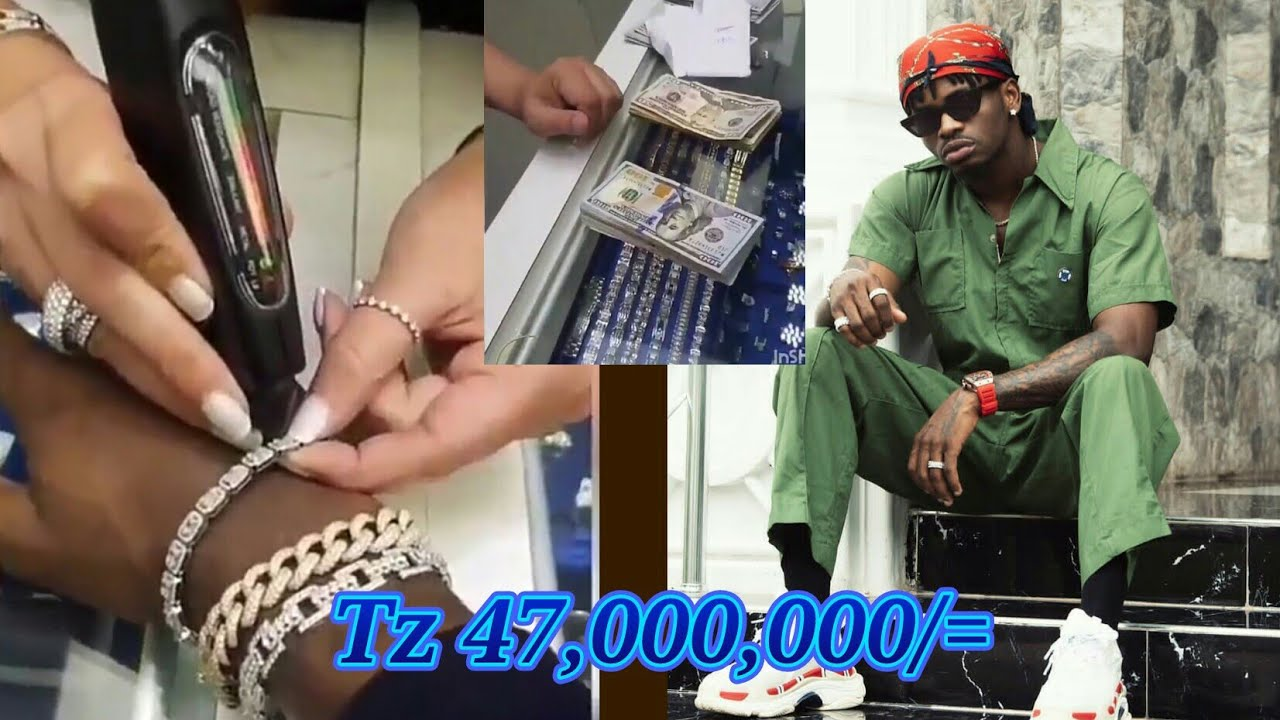 Download Diamond platnumz Apandikiza Urembo Wa ALMASI mwilini / Simba WCB achezea Tz 47 milion Kwa dakika 20