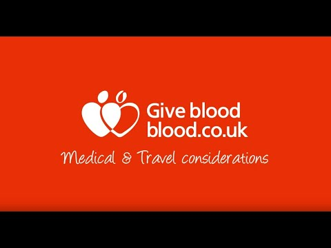 Medical and Travel considerations on blood.co.uk