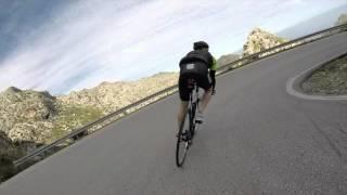 Bicycle Full Descent of Sa Calobra April 2016