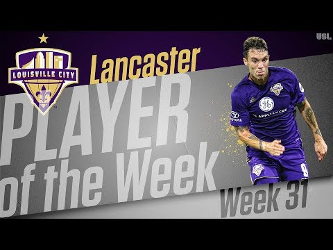 USL Player of the Week - Cameron Lancaster, Louisville City FC