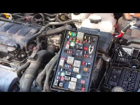 [DIAGRAM_38EU]  Chevy Cruze fuse box fails causes power windows, lights and turn signals to  not work properly. - YouTube | Chevrolet Cruze 2011 Fuse Box |  | YouTube