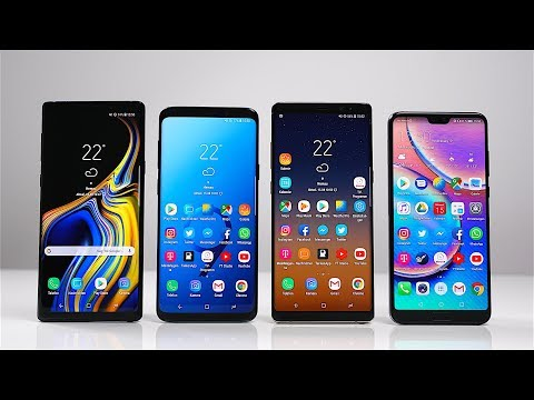 Samsung Galaxy Note 9 vs. S9+ vs. Note 8 vs. Huawei P20 Pro: Benchmark | SwagTab