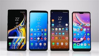 Samsung Galaxy Note 9 vs. S9+ vs. Note 8 vs. Huawei P20 Pro: Benchmark | SwagTab