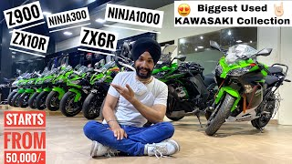 BIGGEST Pre-Owned KAWASAKI Collection Again😍 || BIG SURPRISE COMING SOON 😁