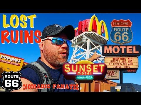 Nostalgic Neon Motels, Bagdad Cafe, & Abadonded Exploration