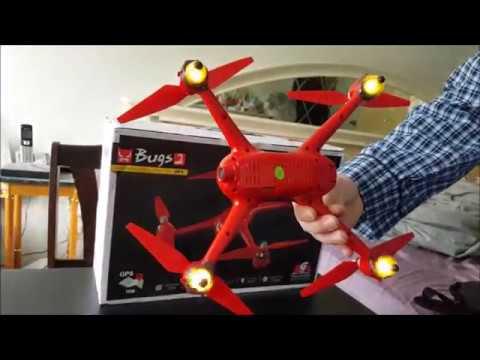 MJX Bugs 2 WiFi aka Hubsan h501s Killer