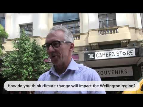 How do you think climate change will impact the Wellington region?