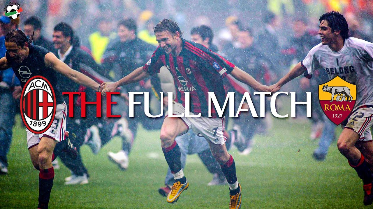 The Full Match | AC Milan 1-0 Roma | Serie A 2003/2004 ...