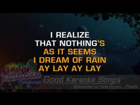 Desert Rose -  Sting ( Karaoke Lyrics )