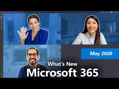 What's New With Microsoft 365 | May 2020