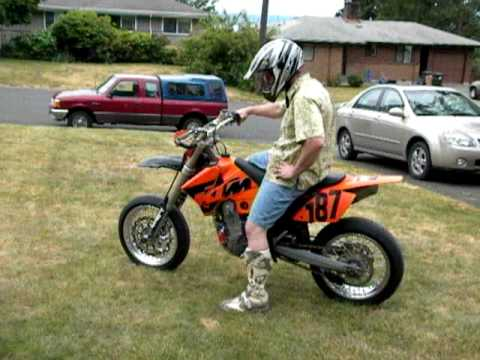2005 ktm smr street legal, for sale - youtube