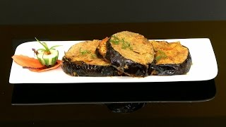Paneer Stuffed Eggplant/ Brinjals Recipe with Philips Airfryer by VahChef