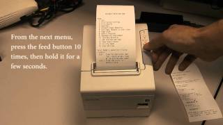 How to Activate the On-Board USB port on an Epson TM-T88V