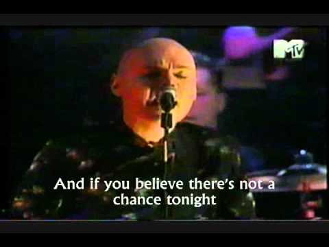 SMASHING PUMPKINS - TONIGHT TONIGHT (Live) Lyrics .wmv