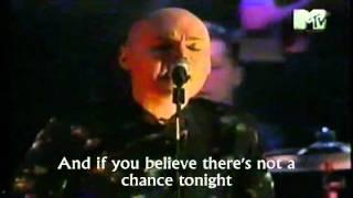 SMASHING PUMPKINS - TONIGHT TONIGHT (Live) Lyrics .wmv
