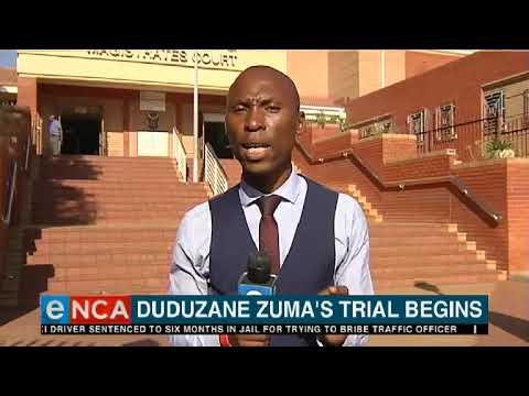 Duduzane Zuma's trial begins