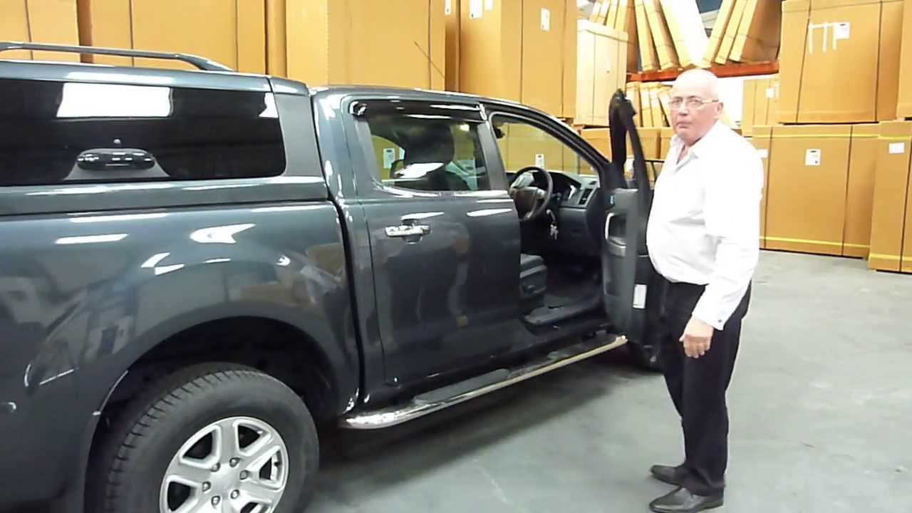 ford ranger hardtop canopy accessories side steps youtube. Black Bedroom Furniture Sets. Home Design Ideas
