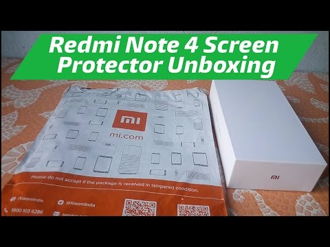 Xiaomi Redmi Note 4 Screen Protector Unboxing Order Form Xiaomi Store