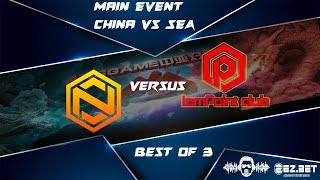 [DOTA 2 LIVE PH] IamPoint Club VS Neon Esport|Bo3| ANGGAME China vs SEA UPPER BRACKET Semi`s