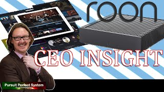 Roon #HiFi Music Player the CEO \u0026 Founder SPECIAL \